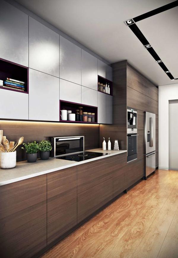 Tủ bếp chung cư đẹp