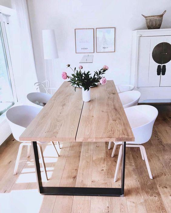 bàn ăn gỗ đẹp