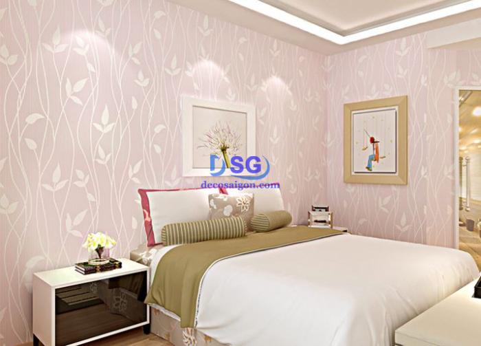 giấy dán tường phòng ngủ đẹp giá rẻ 009