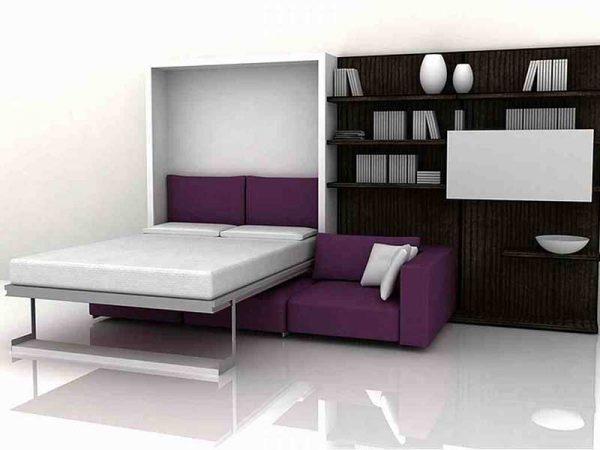 giường thông minh kết hợp sofa sang trọng