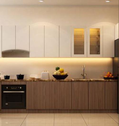 mẫu tủ bếp đẹp bằng gỗ