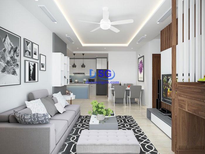 không gian nội thất đẹp giá rẻ