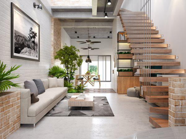 thiết kế nội thất phòng khách giá rẻ đẹp