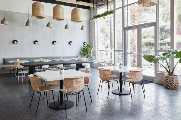 Nội thất quán cafe đẹp phong cách Coastal giá rẻ