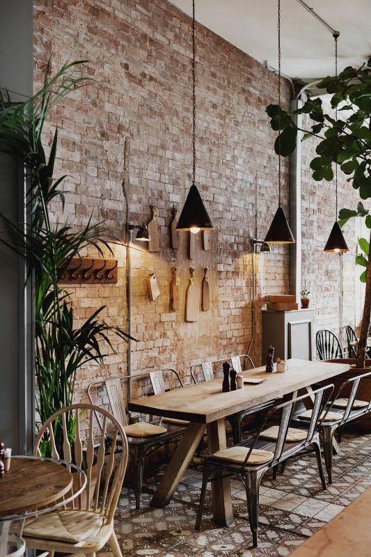 nội thất quán cafe rustic gia re