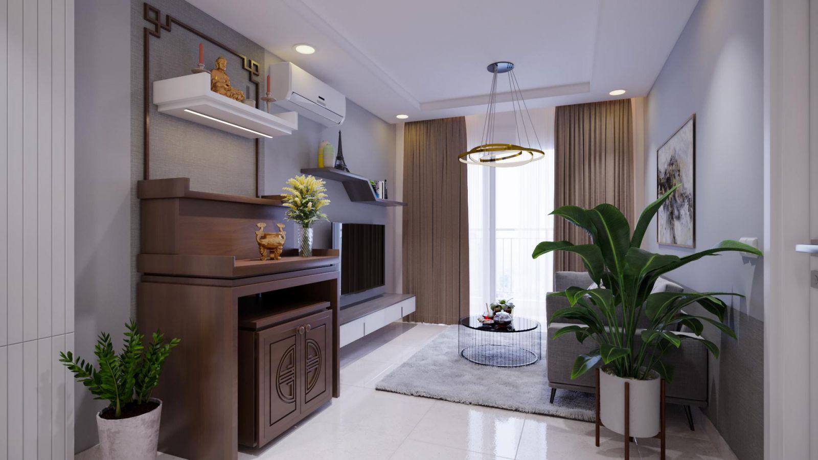 Thiết kế nội thất căn hộ chung cư decosaigon.com