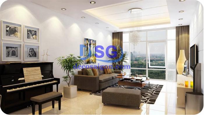 thiết kế thi công nội thất chung cư đẹp giá rẻ 50m2