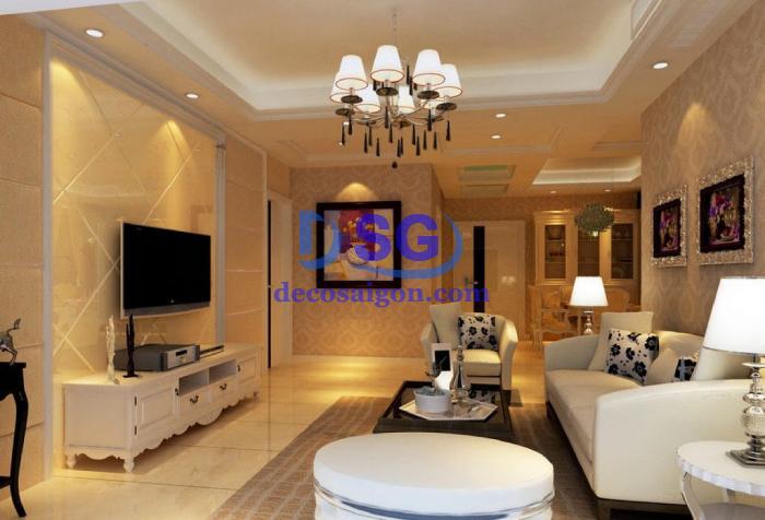 thiết kế thi công nội thất chung cư đẹp giá rẻ