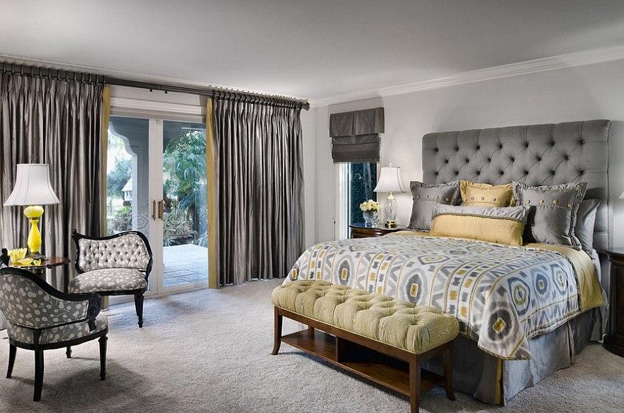 Không gian nội thất phòng khách lấy tone màu chủ đạo là màu xám nhạt