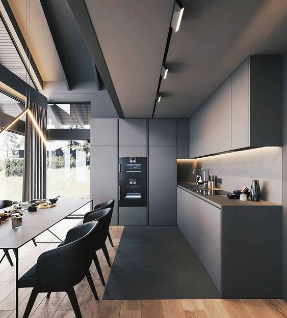 Mẫu tủ bếp đẹp hiện đại TBD-01