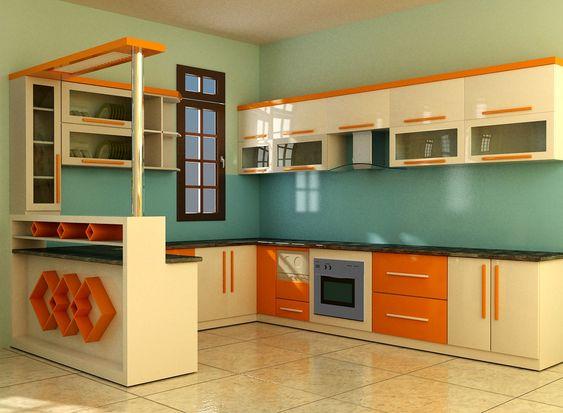 Tủ bếp tân cổ điển 104