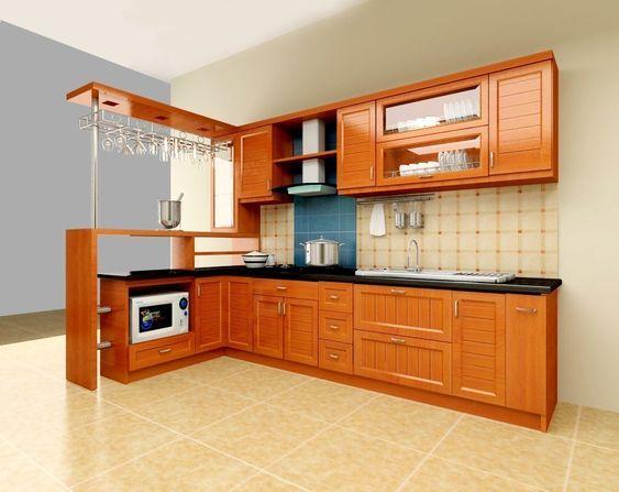 Tủ bếp tân cổ điển 105