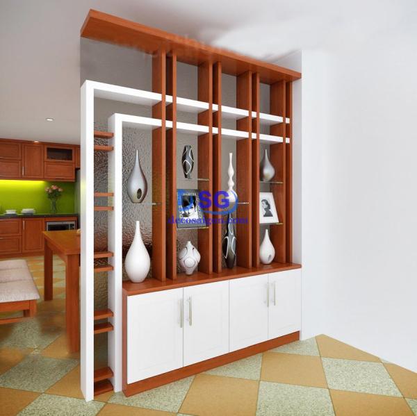 vách ngăn phòng khách và bếp 009